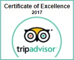 Tripadvisor 2017 Travelers choice