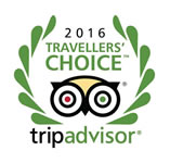 Tripadvisor 2016 Travelers choice