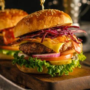 Season for burgers