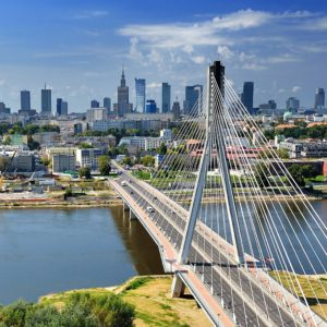 Visit Warsaw and sightseeing